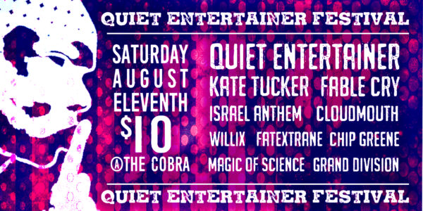 Quiet Entertainer Festival Cobra Nashville